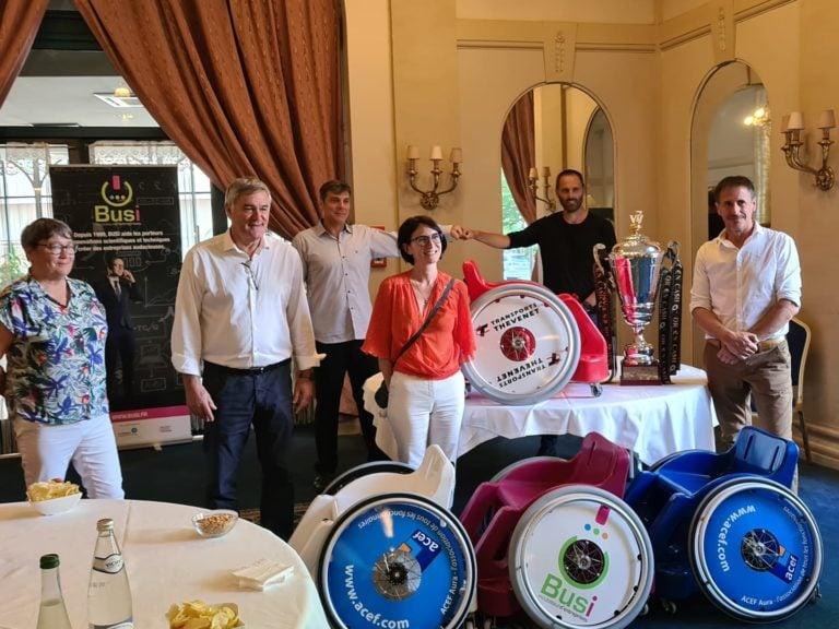 Read more about the article Finalisation du projet de sponsorisation d'un fauteuil de sport pour enfant! (09/07/2020)
