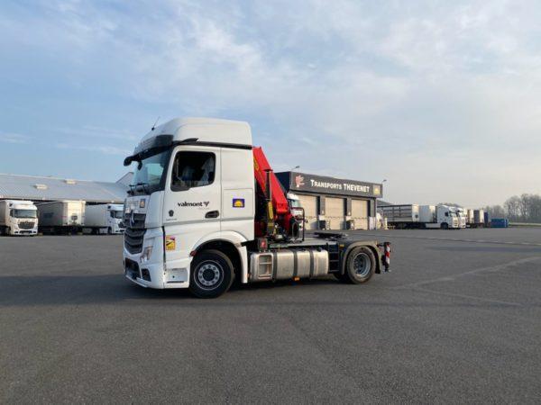 Read more about the article Nouveau camion grue (09/03/2021)