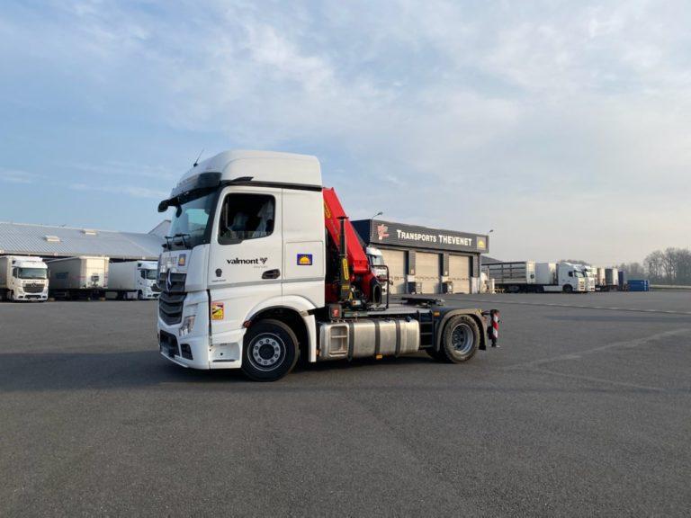 Nouveau camion grue (09/03/2021)