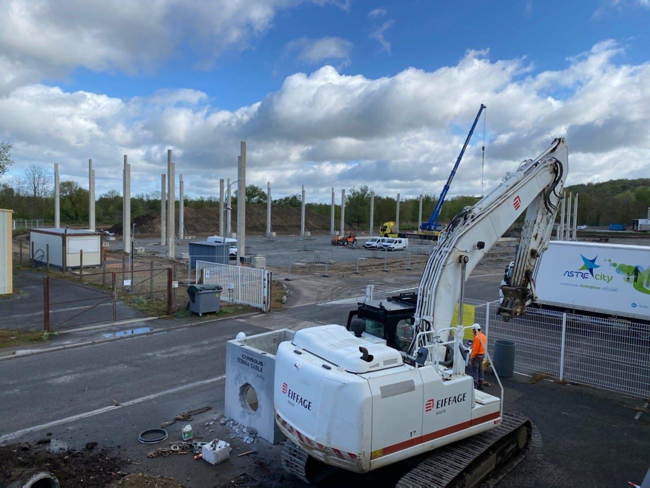 Nouvel entrepôt logistique (05/05/2021)